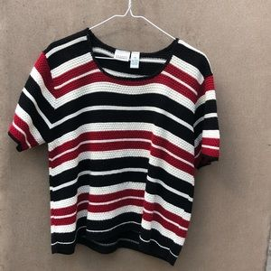 Classic Elements Striped Knitted Shirt XL